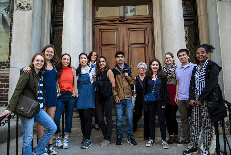 ELSI Students at the Mutter Museum