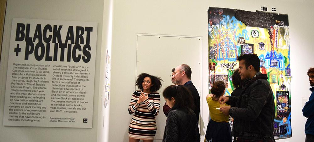 Opening night crowd attends Black Art + Politics