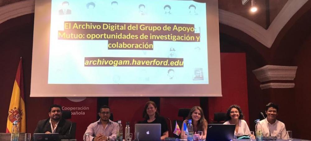 Members of Grupo de Apoyo Mutuo
