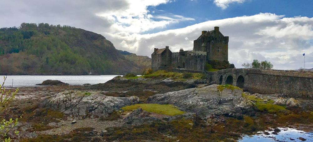 A castle in the Scottish Highlands