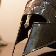 Reproduction of an ancient helment