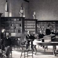 The Alumni Hall as seen in 1865