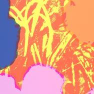Warhol flower