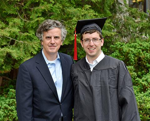 Mark G. Anderson '84 with Robert Lee Anderson '15