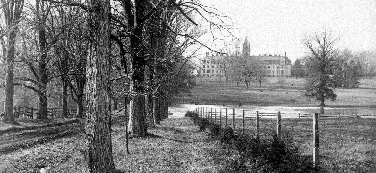 View of Barclay Hall