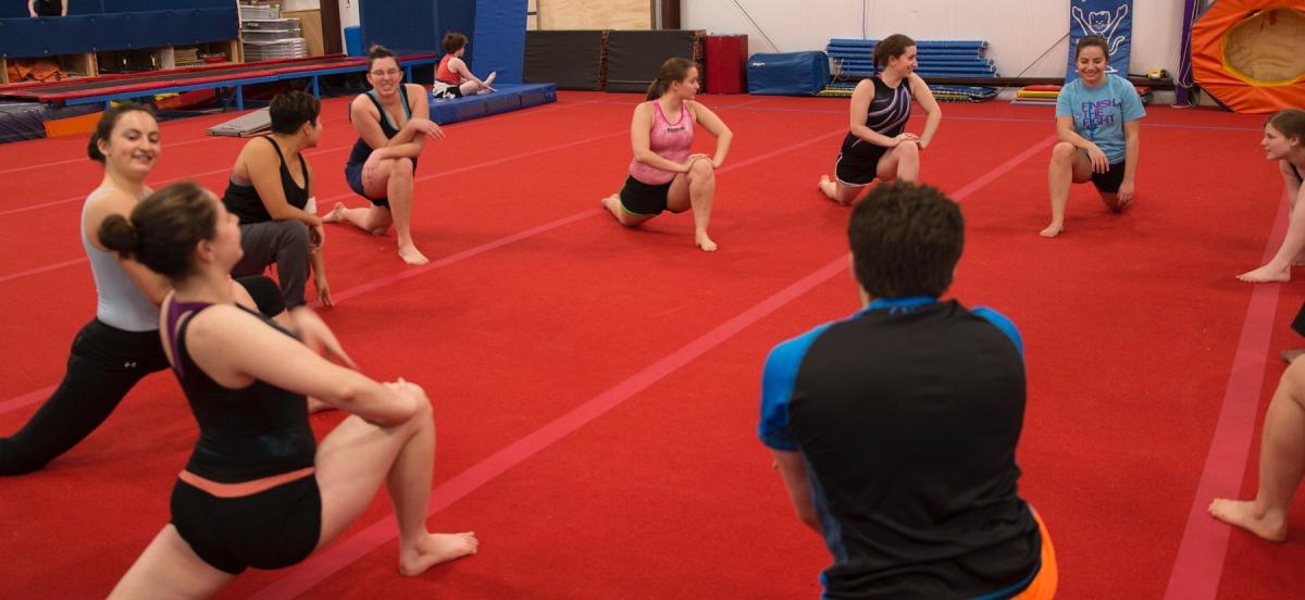 Members of the Bi-Co Gymnastics Club
