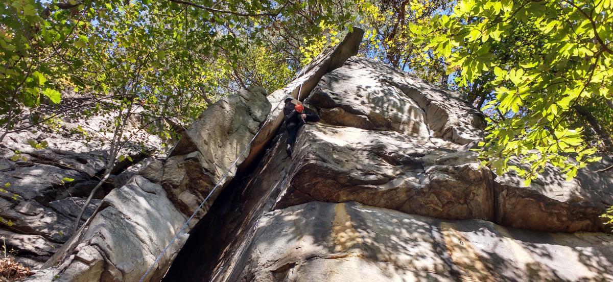 HavOC rock cliimbing