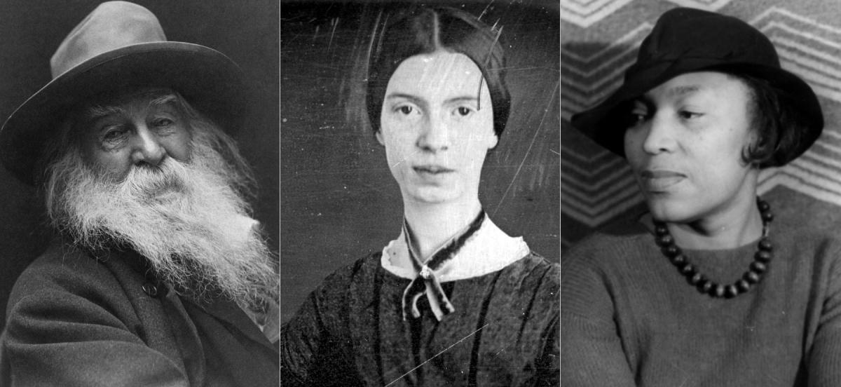 Walt Whitman, Emily Dickinson, and Zora Neale Hurston