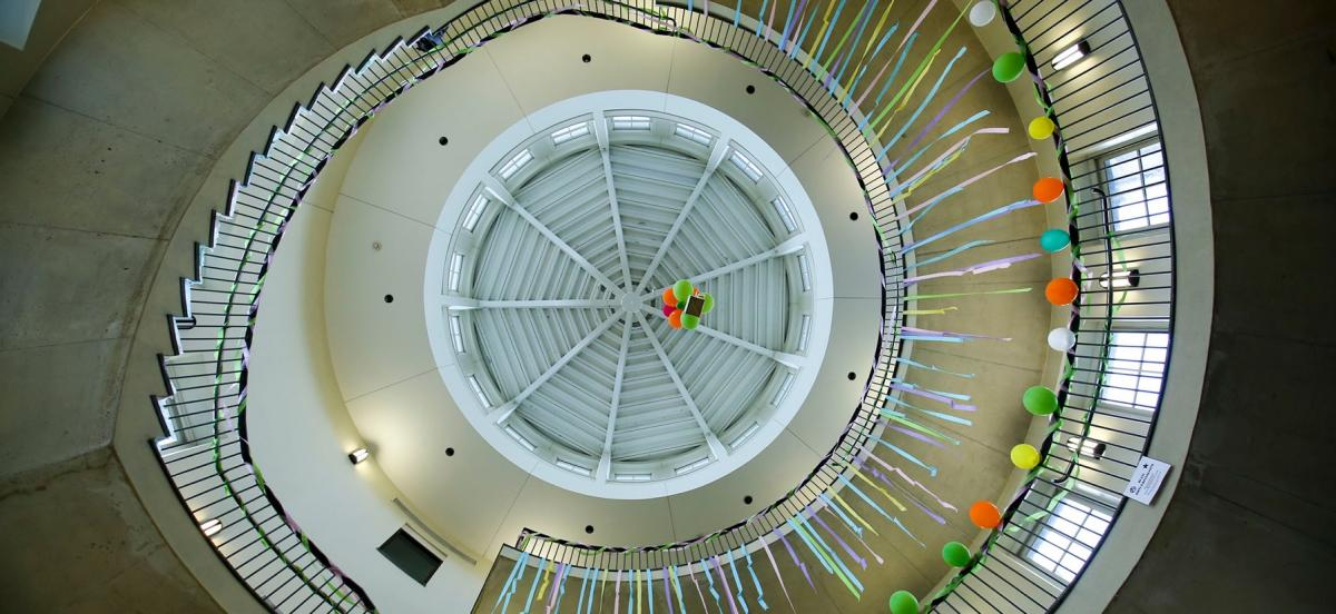 Inside of KINSC Rotunda