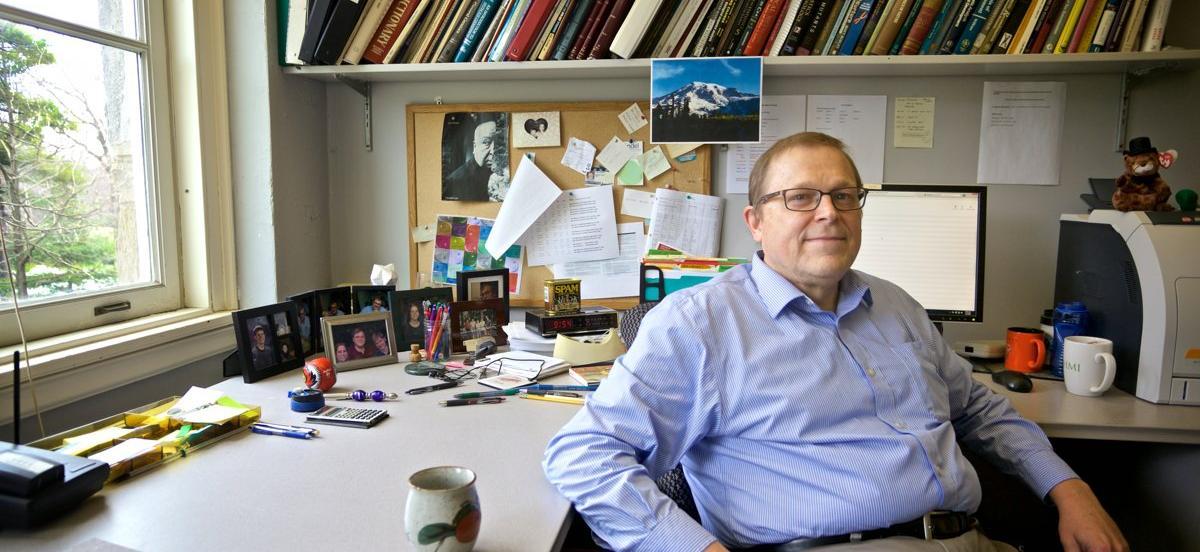 Professor Philip Meneely in office