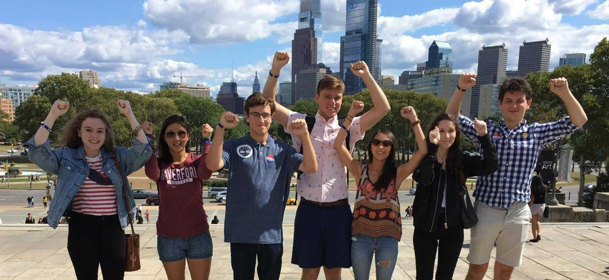 Students in Philadelphia