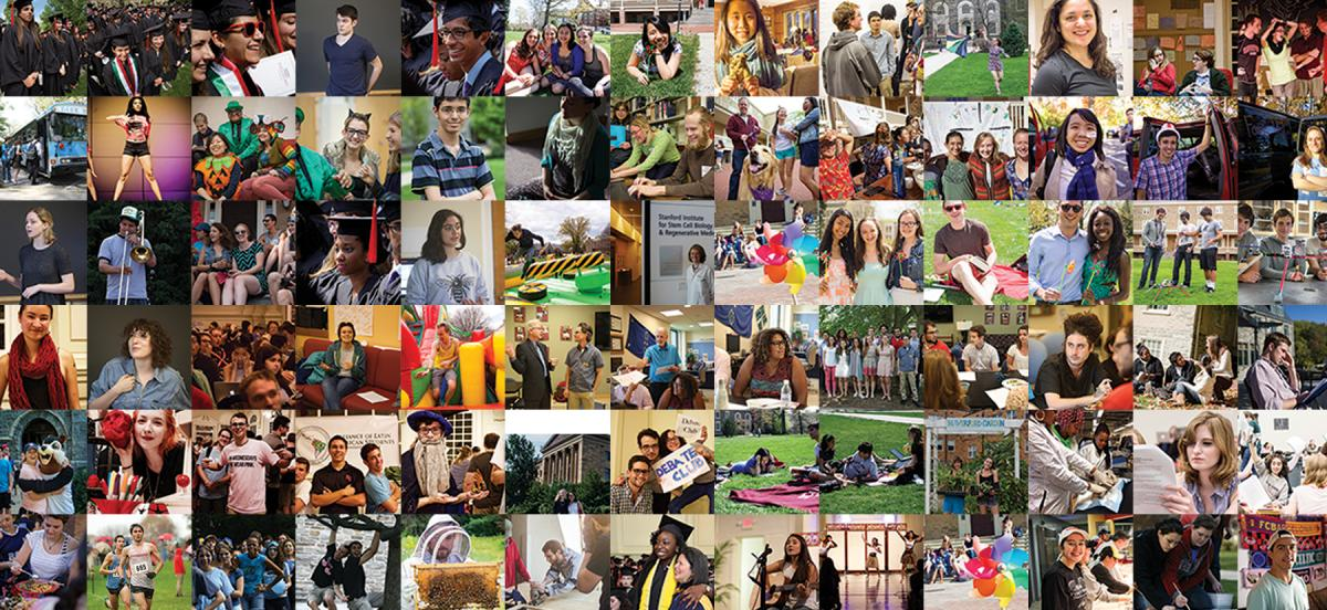 Mosaic of Lives That Speak campaign images