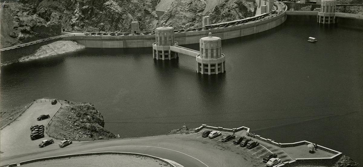 Boulder Dam as photographed by Edward Weston