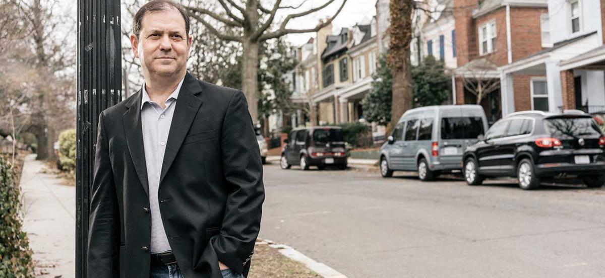 Ken Stern on his Washington, D.C., street/