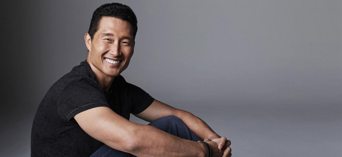 Daniel Dae Kim smiles at the camera