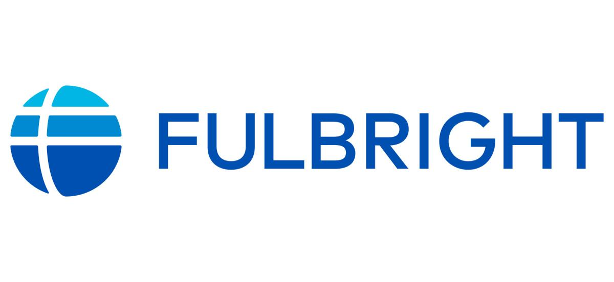 Blue Fulbright logo