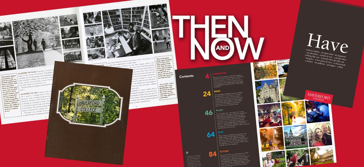 The viewbook then and now