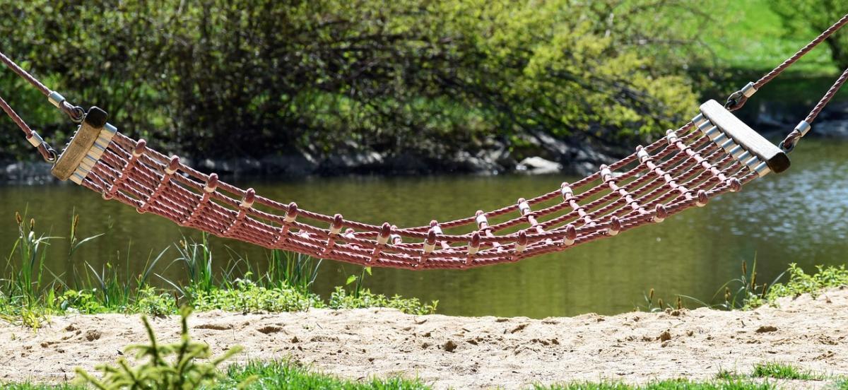 an inviting hammock
