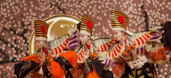 Tamagawa University Taiko Dance Group performance