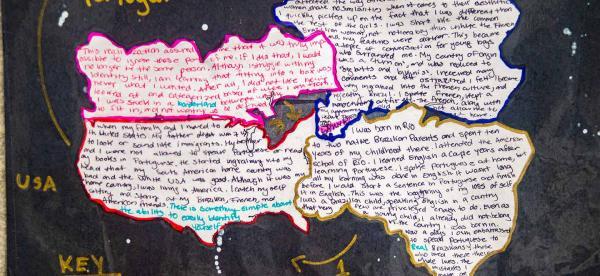 visual representations of the border