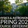 spring 2021 course offerings