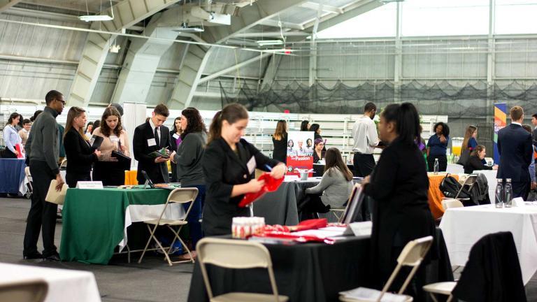 CCPA's annual Tri-College & STEM Recruiting Day.